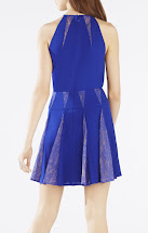 BCBG Lace Halter Dress