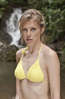 Kelly Adams in BBC1's Death in Paradise