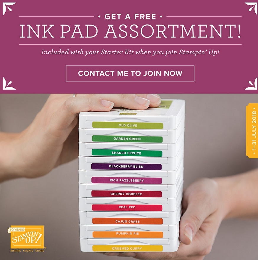 FREE Ink Pad Promotion