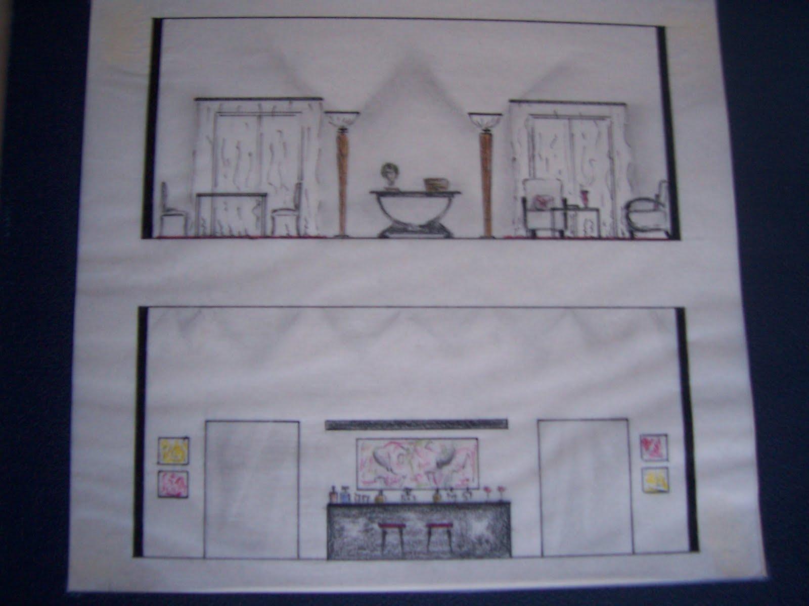 Dise o de interiores y decoracion patty temes plano for Diseno de interiores nota de corte