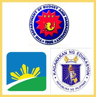 DBM, GSIS, DepED Logo