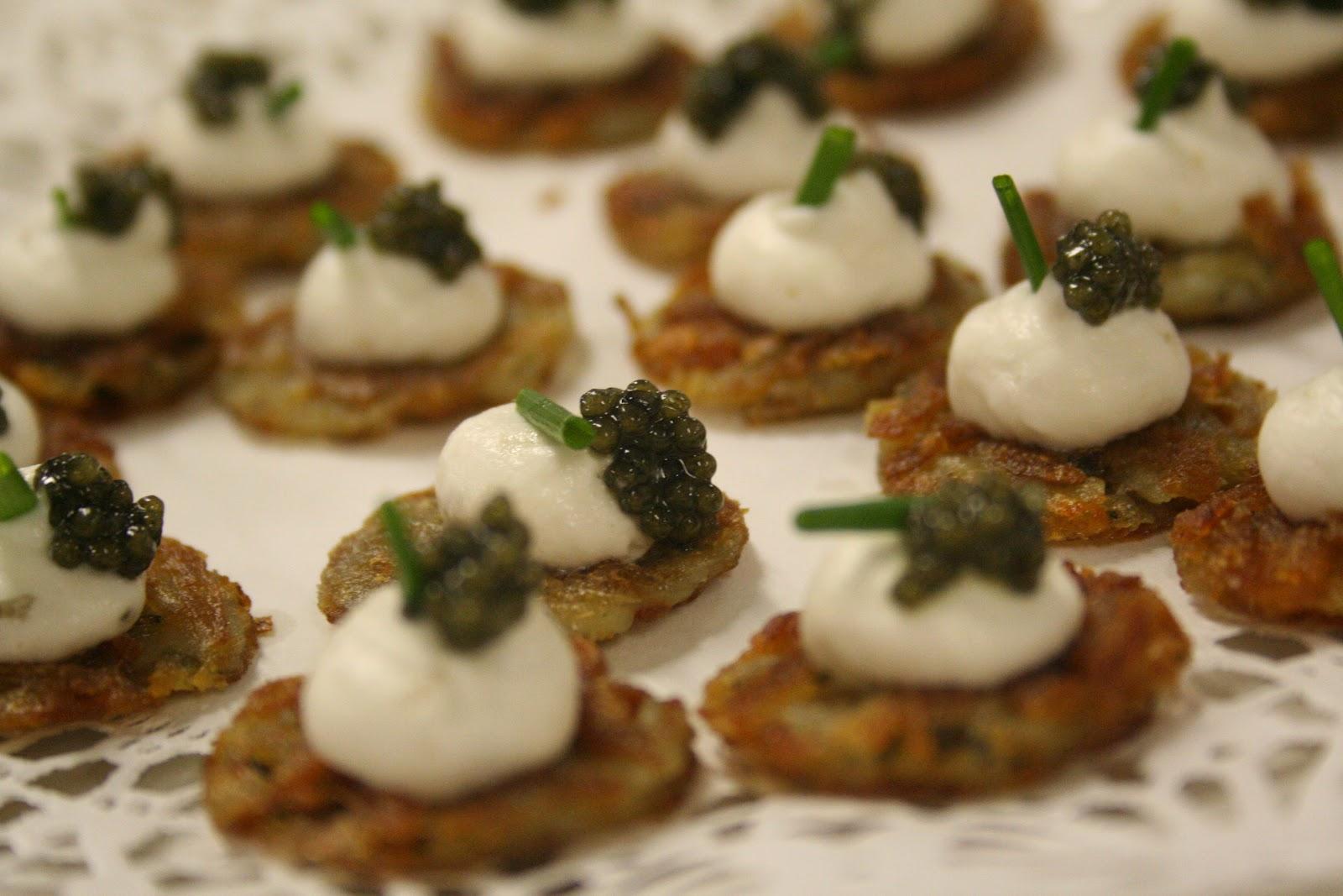 Fork cork my labor of love for Canape de caviar
