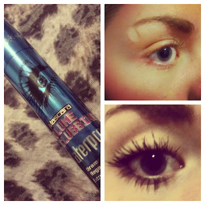 Bourjois Volume Clubbing mascara before&after KatSick