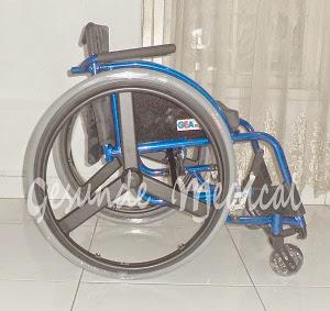 kursi roda fs721l 36 murah