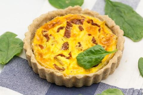 Sundried Tomato-Cheese Pie