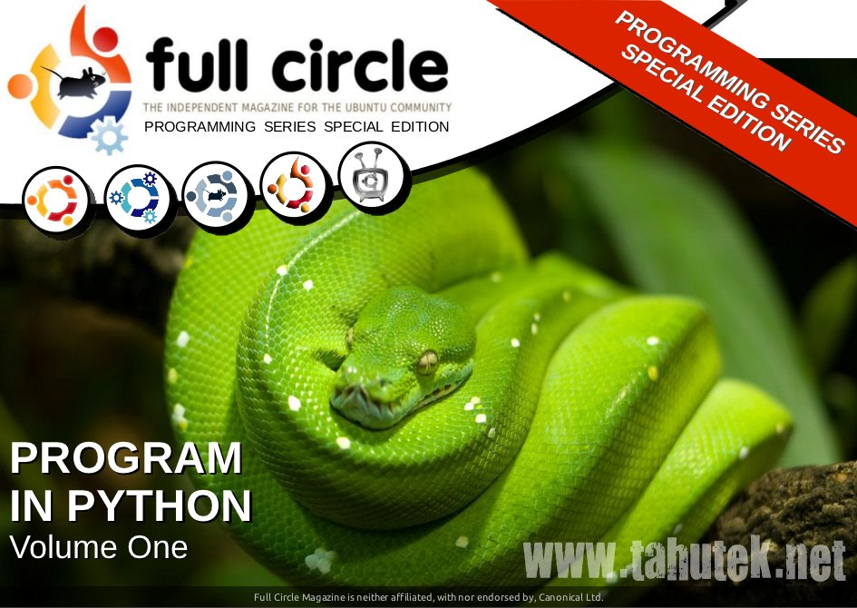 Full Circle Magazine: Python Special Edition