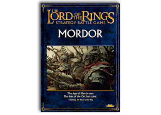 Podręcznik Władca Pierścieni LotR: SBG, Mordor, Orki, Nazgule, Sauron