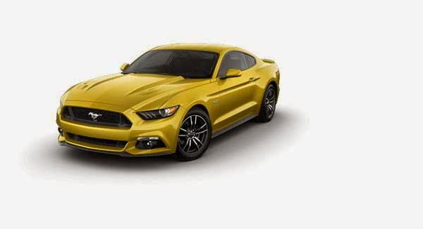 2015 Ford Mustang Configurator Goes Live