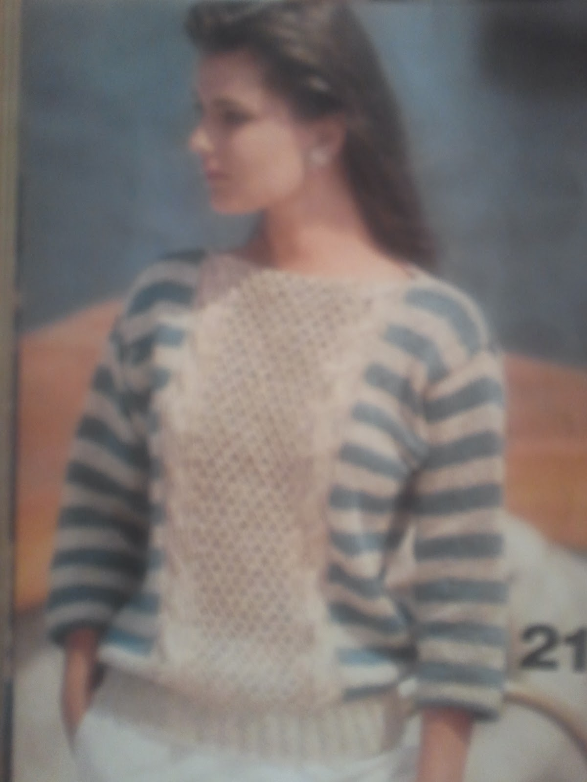Cloud heights vintage vogue knitting pattern spring 1984 the design is by veteran deborah newton who has a new design in the vk fall issue that just arrived in my mailbox she is a genius bankloansurffo Choice Image