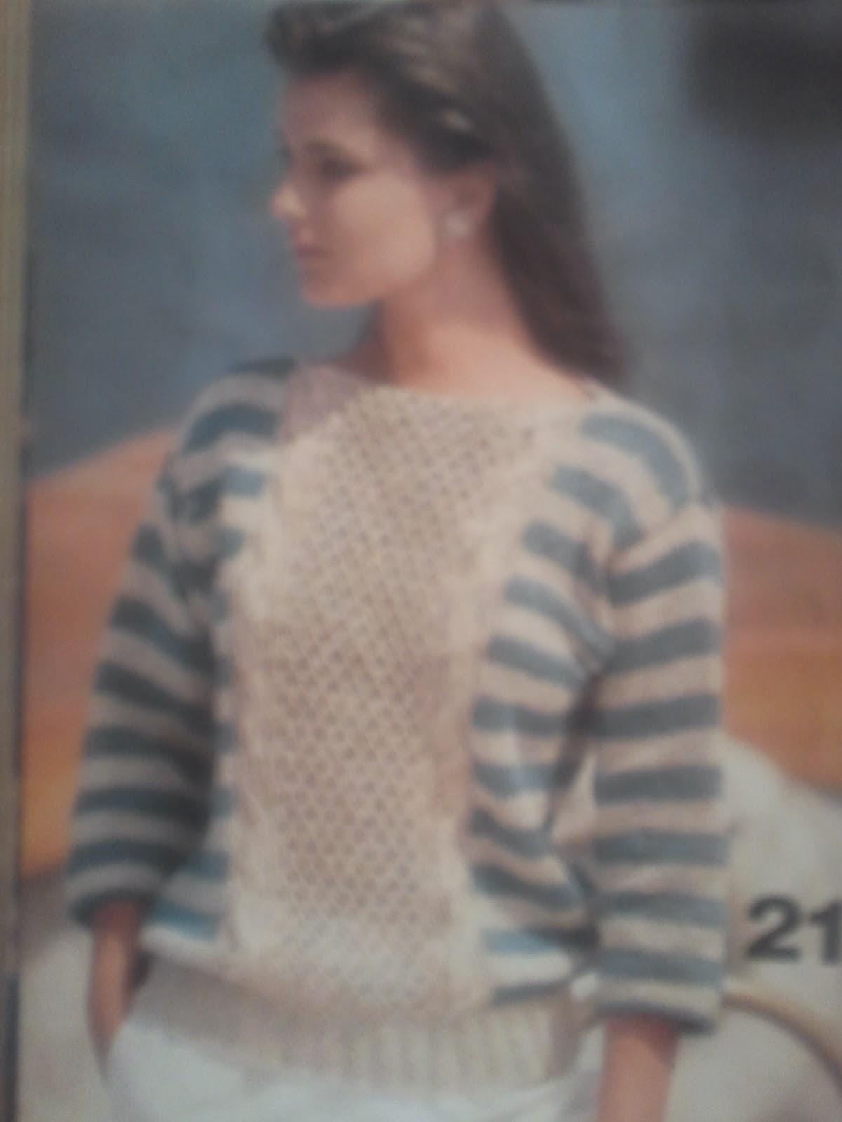 Cloud Heights: Vintage Vogue Knitting pattern Spring 1984