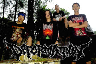 Deformation Band Death Metal / Grindcore Tasikmalaya Jawa Barat Photo Logo Wallpaper Artwork