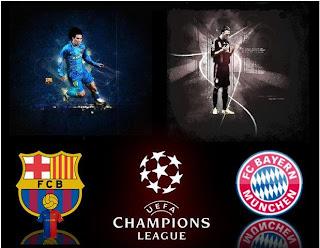 Prediksi Barcelona VS Bayern Munchen, semifinal Liga Champions 2013