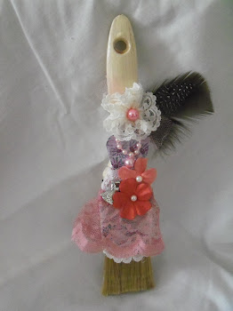 Mini Altered Paint Brush