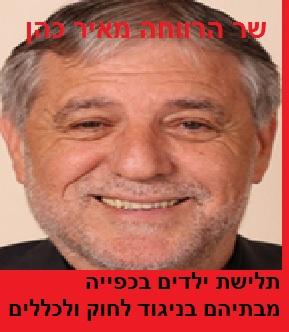 שר הרווחה מאיר כהן - תלישת ילדים בכפייה מבתיהם בניגוד לחוק ולכללים