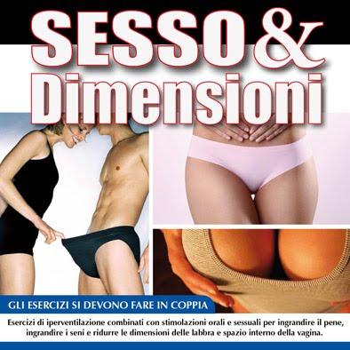 Sesso e Dimensioni