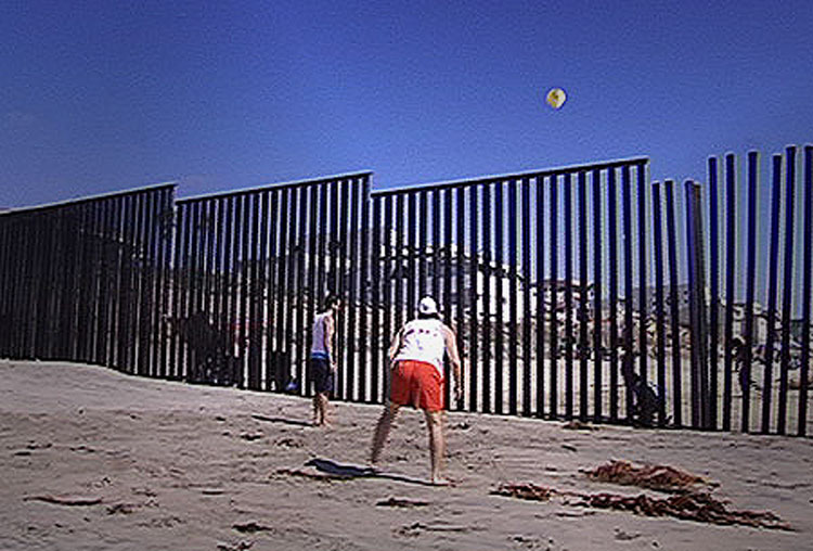 Locals Are Using The US-Mexican Border As A Volleyball Net To Promote Peace