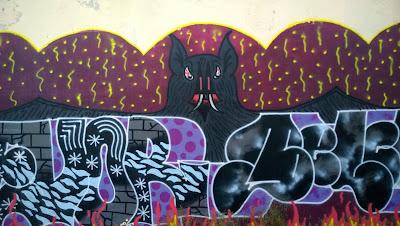 Reykjavik Mural Bat