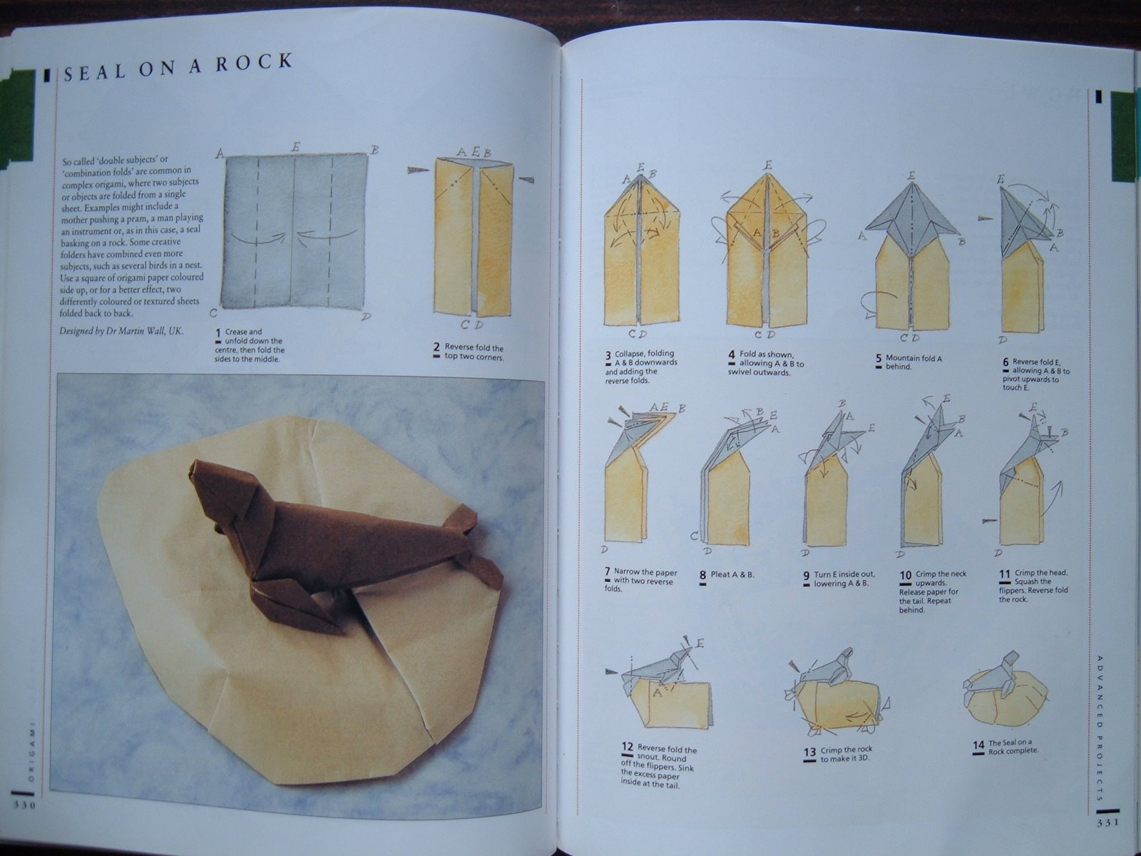 Kayohh seal on the rock origami diagram seal on the rock origami diagram jeuxipadfo Gallery