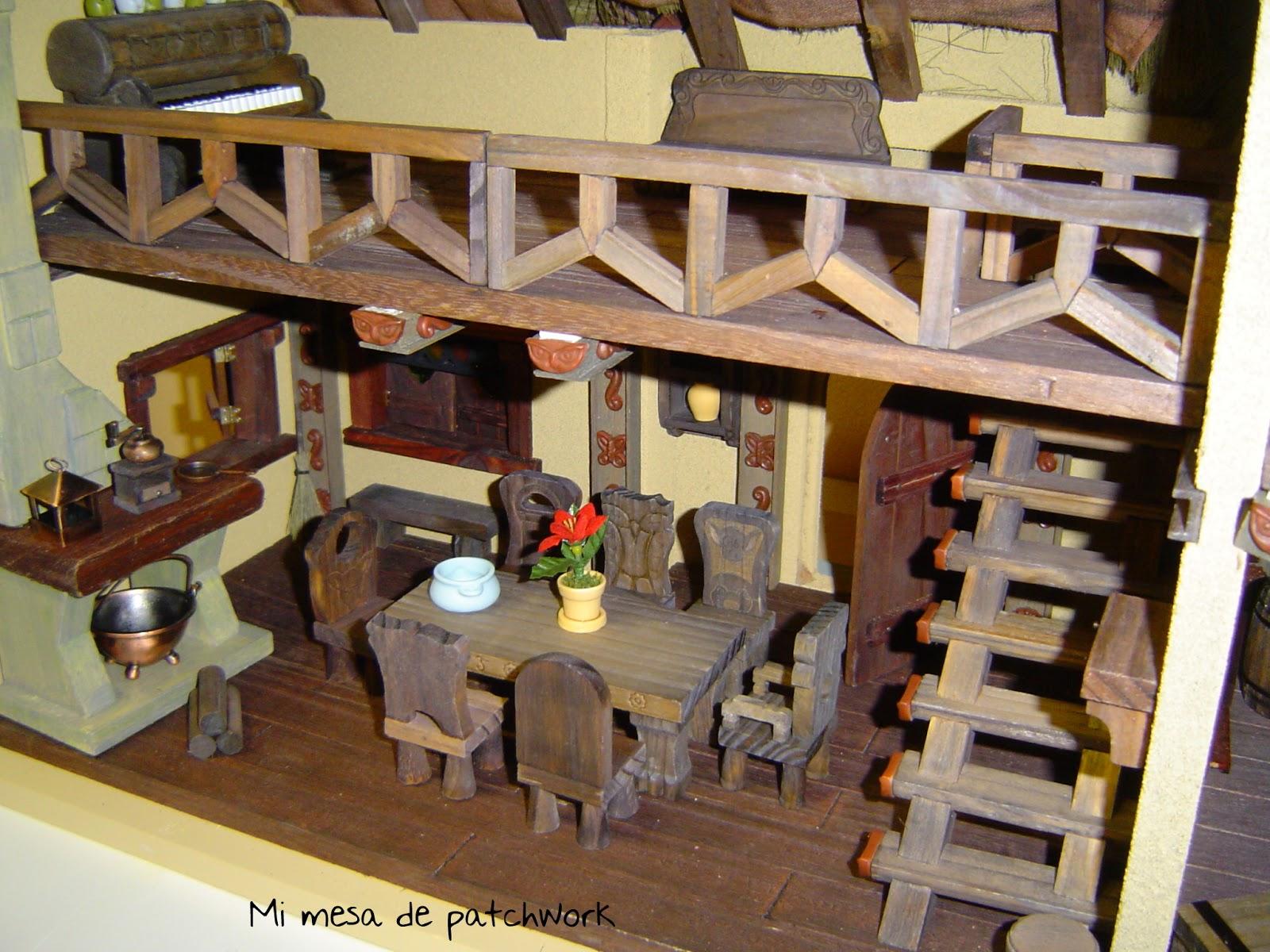 Mi mesa de patchwork blancanieves y los siete enanitos for Casa enanitos