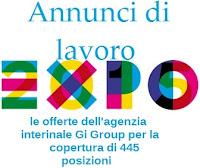 Lavorare presso Expo Milano 2015: le offerte di lavoro di Gi Group