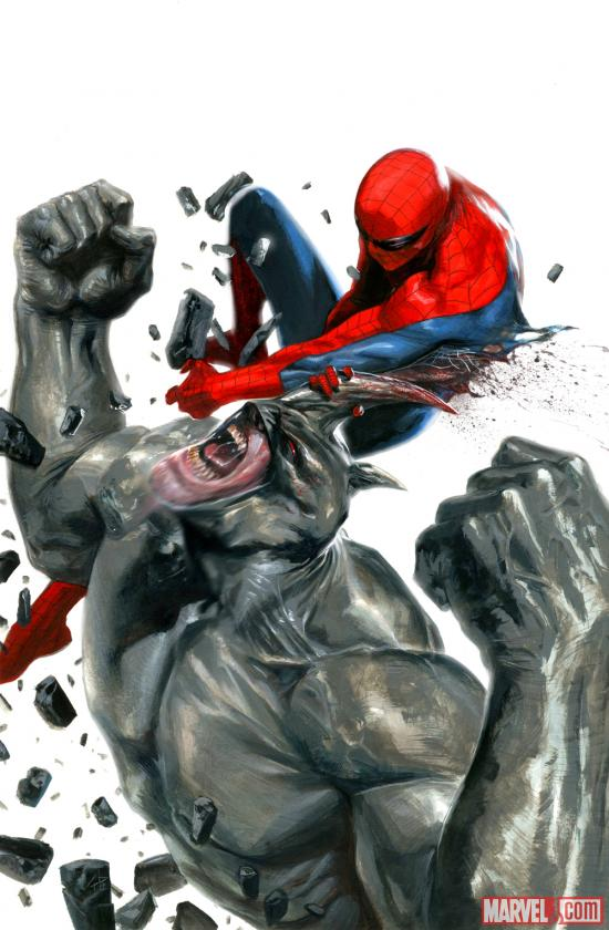 Spider-Man Vs Rhino Cool Picture