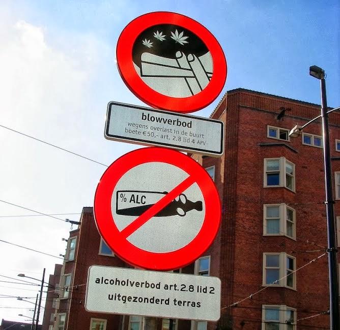 Amsterdam, Holanda: em lugares públicos só pode fumar maconha