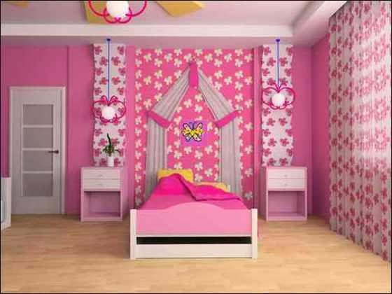 دهانات غرف اطفال حديثة   ديكورات