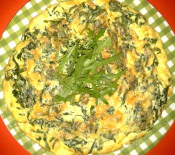 Una ricetta veloce per cucinare la rucola con le uova for Cucinare 2 uova