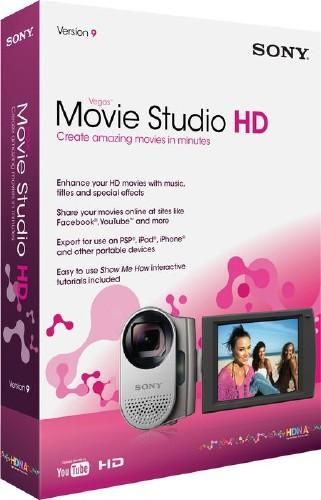 Sony Vegas Movie Studio HD Platinum V 10.0.179