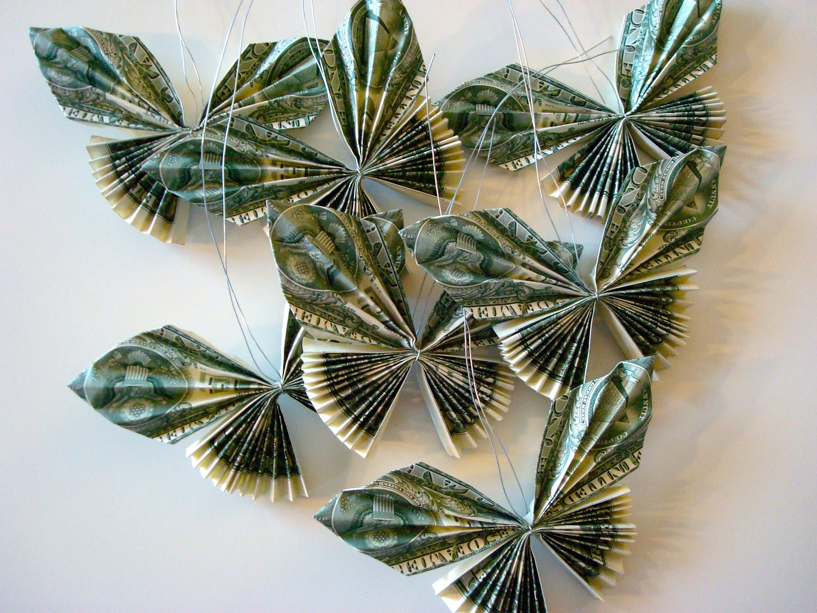 Tutorial  How To Make A Candy Lei With Dollar Bill Butterflies
