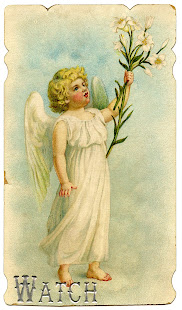 She's watching over us  ~ The Vintage Angel ~