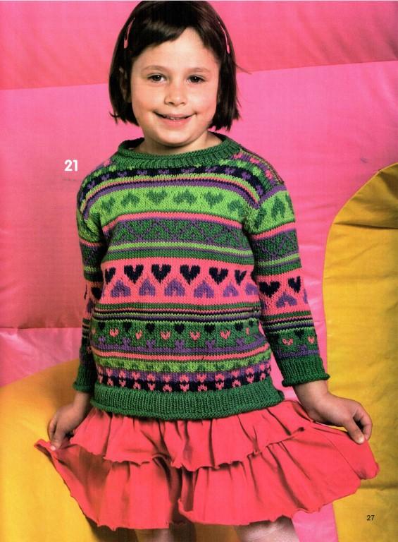 Вязание для девочек от 3 до 4 лет