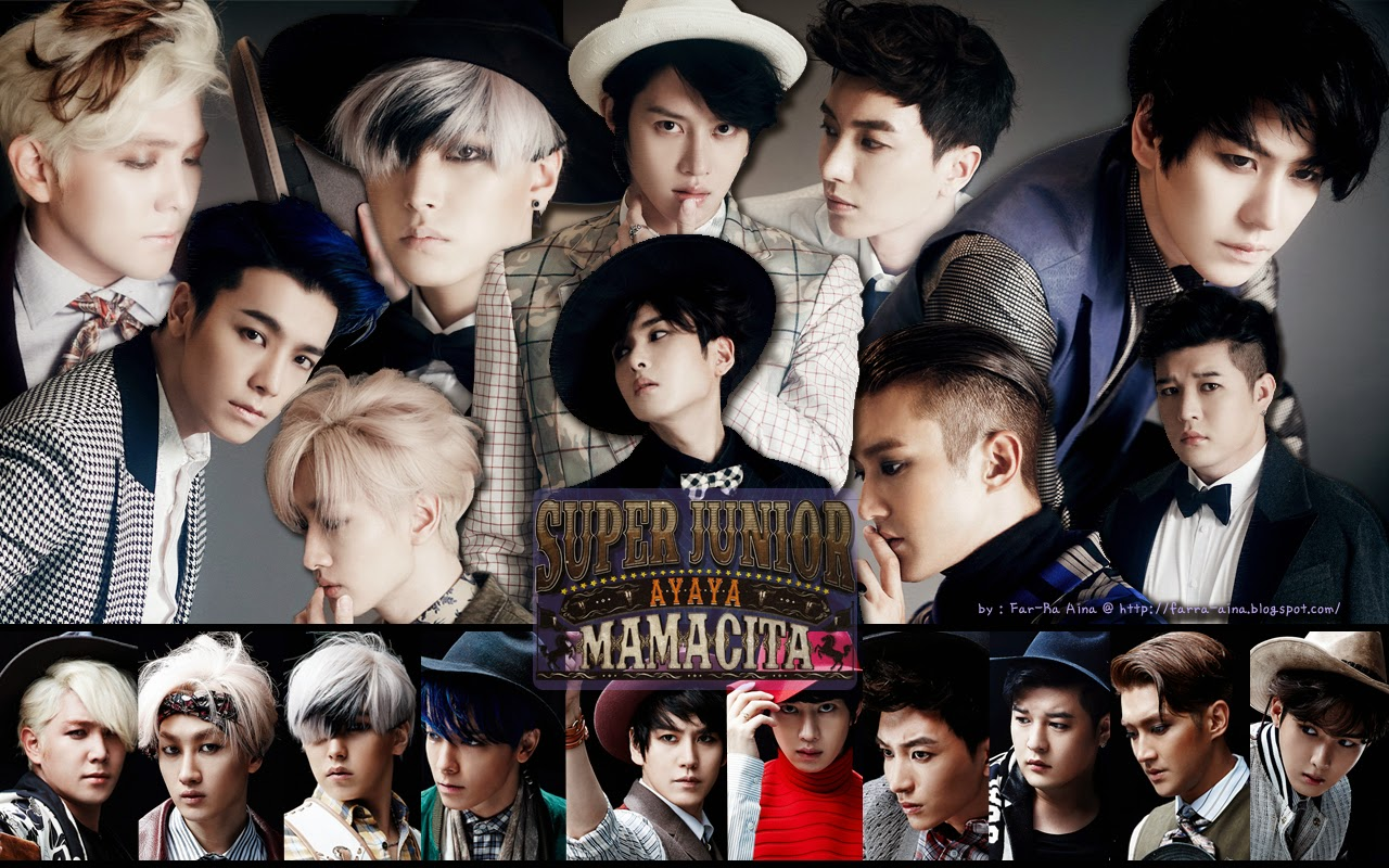 pop lover ^^: SUPER JUNIOR  Mamacita WALLPAPER