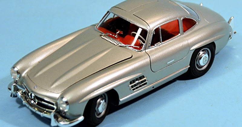 scale model news mercedes benz 300 sl gull wing from. Black Bedroom Furniture Sets. Home Design Ideas