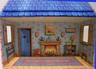 casa de muñecas de papel