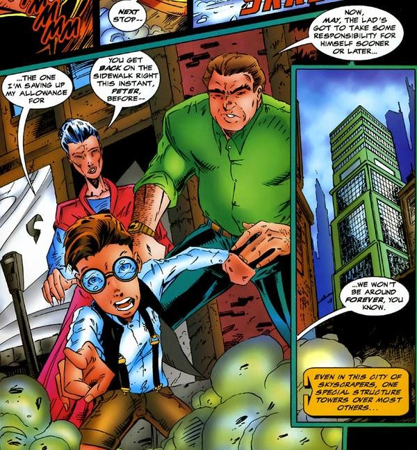 Avengers Timeslide Peter Parker