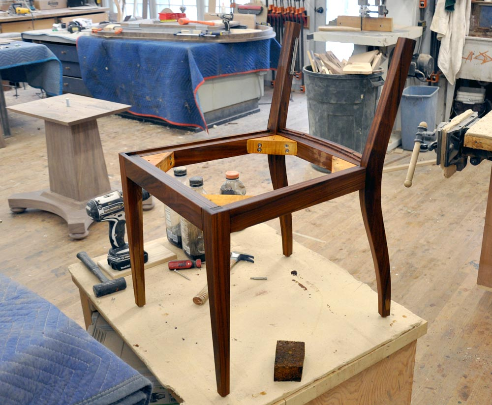 Dorset Custom Furniture A Woodworkers Photo Journal Chair Challenge