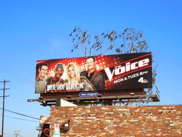 Voice season 6 billboard