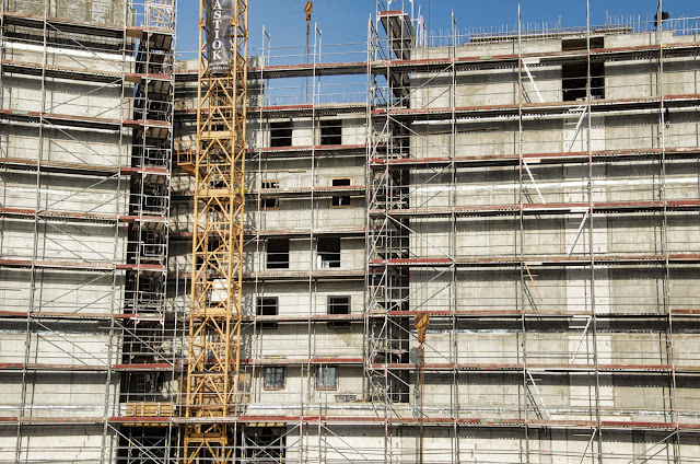 Baustelle Ibis Hotel und Hotel Amano, Invalidenstraße, gegenüber Hauptbahnhof, 10557 Berlin, 11.03.2014