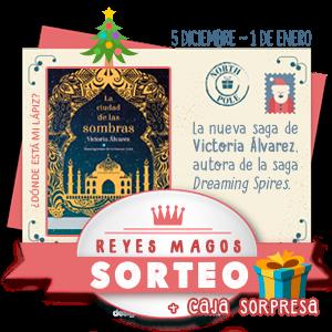 """¡Sorteo de Reyes Magos de """"La ciudad de las sombras""""!"""
