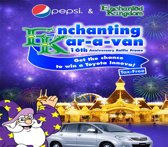 Enchanted Kingdom's Enchanting Kar-a-van Promo
