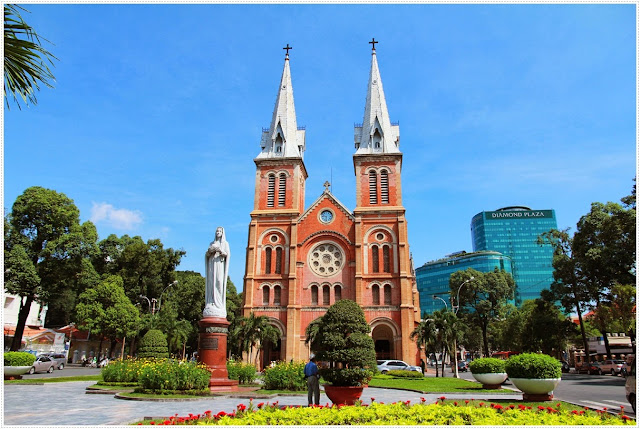 Duc Ba Church - Ho Chi Minh city , Vietnam
