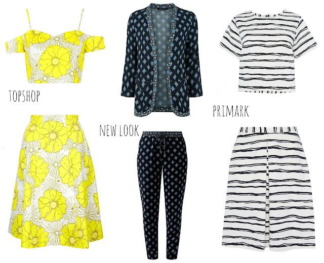 mamasVIb | V. I. BABYMAMAS: Have you tried a co-ord this summer? | asos | prim ark | culottes | womens fashion | tops shoot bardot top and skirt | floral print | breton | boden | dungarees | yellow heels | topshop | warehouse | co-eds | fashion | style | kate spade | shoes |heels | wardrobe wonders | stylish | mamasVIb | clothes \ models | match match | matching style s\ suiting | co-ord | style