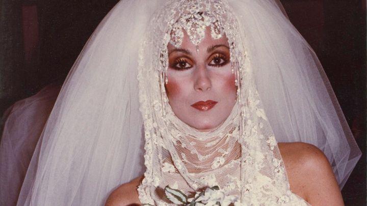 Never Seen Before Shot Of Janis Joplin Cher Donned The Bob Mackie Wedding