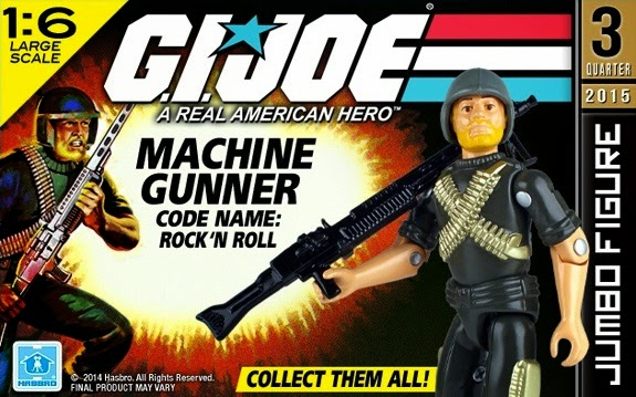 "G.I. Joe 12"" Jumbo Vintage Rock 'N Roll Action Figure by Gentle Giant"