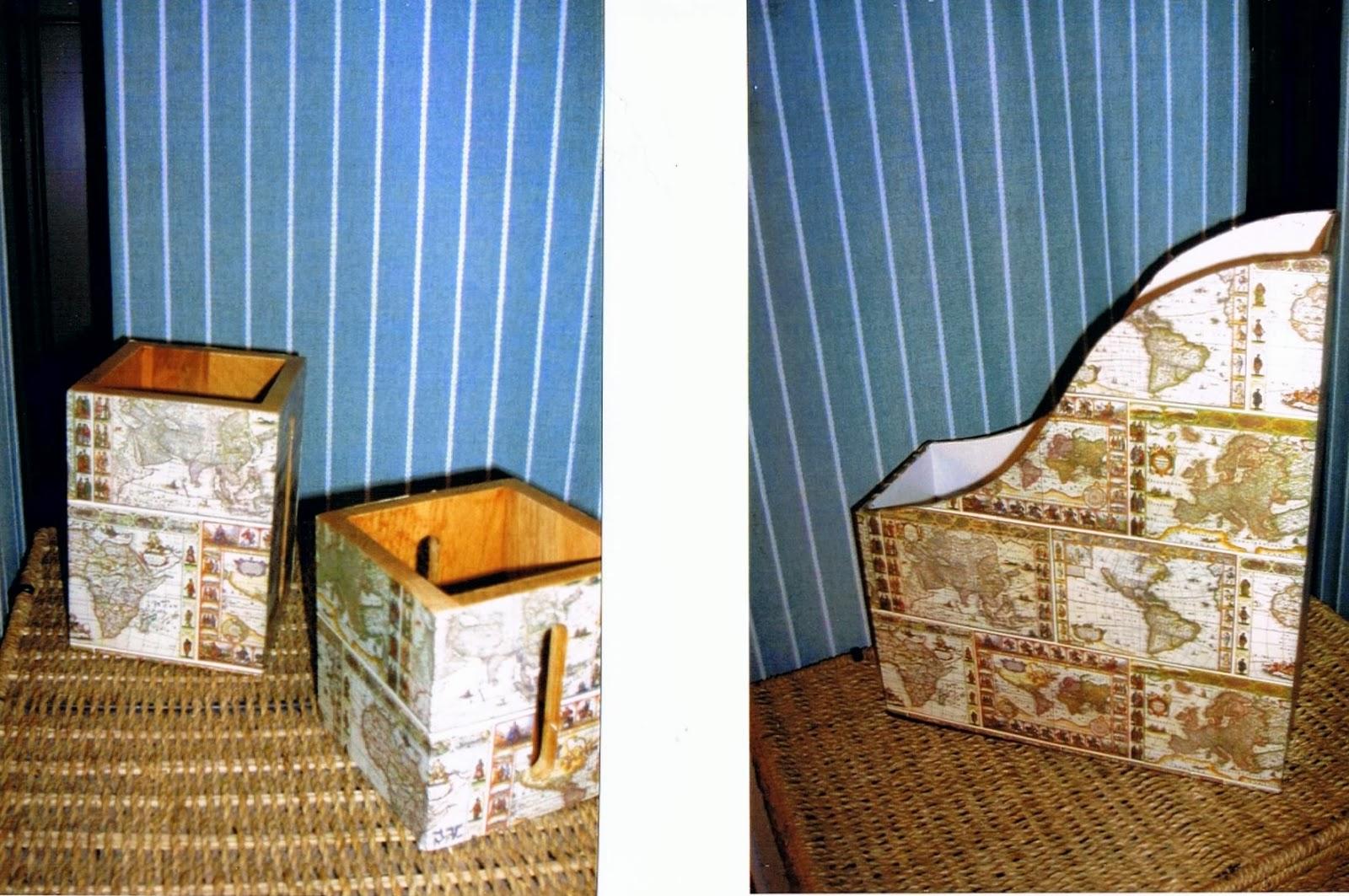 Hecho en casa de julia revisteros madera - Hacer boligrafos en casa ...