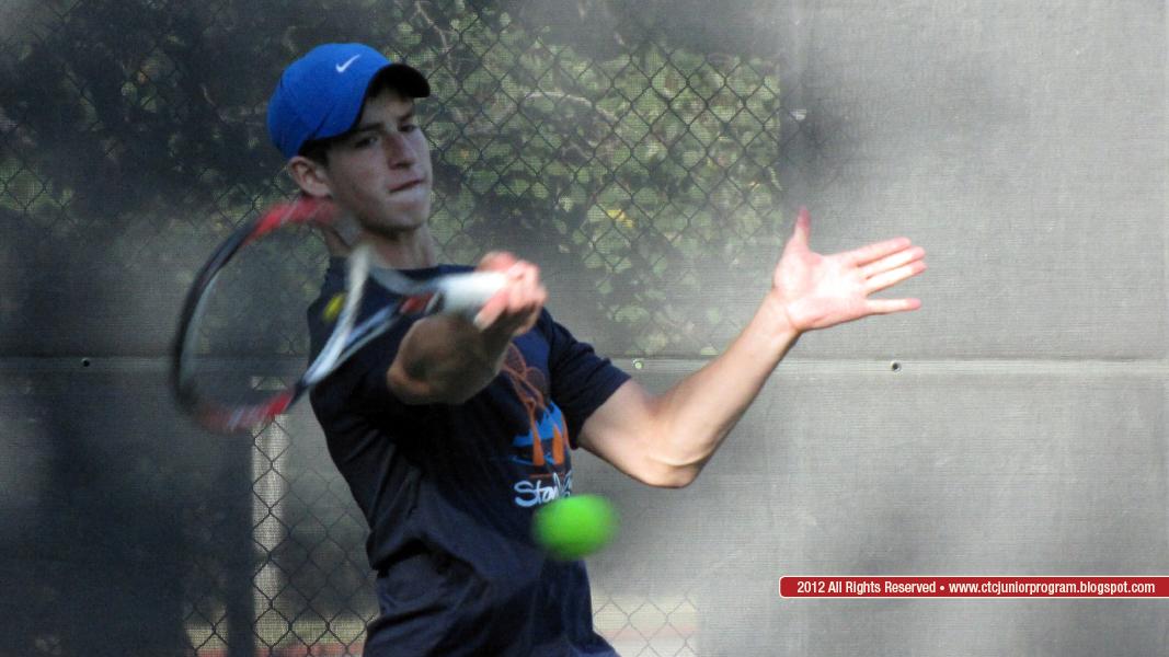 2012 U18 Boys' Singles Club Champion – Alexander Baumann