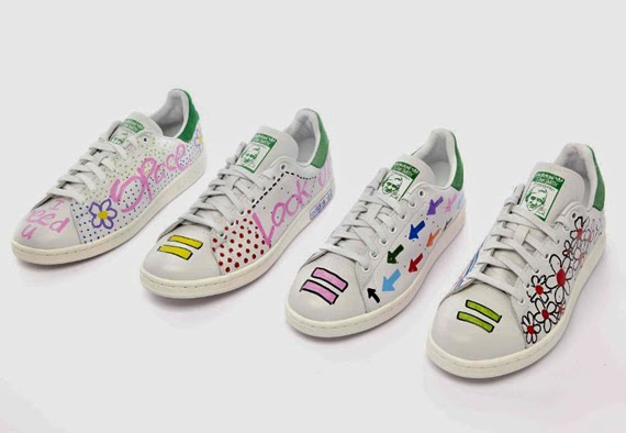 adidas stan smith a pois