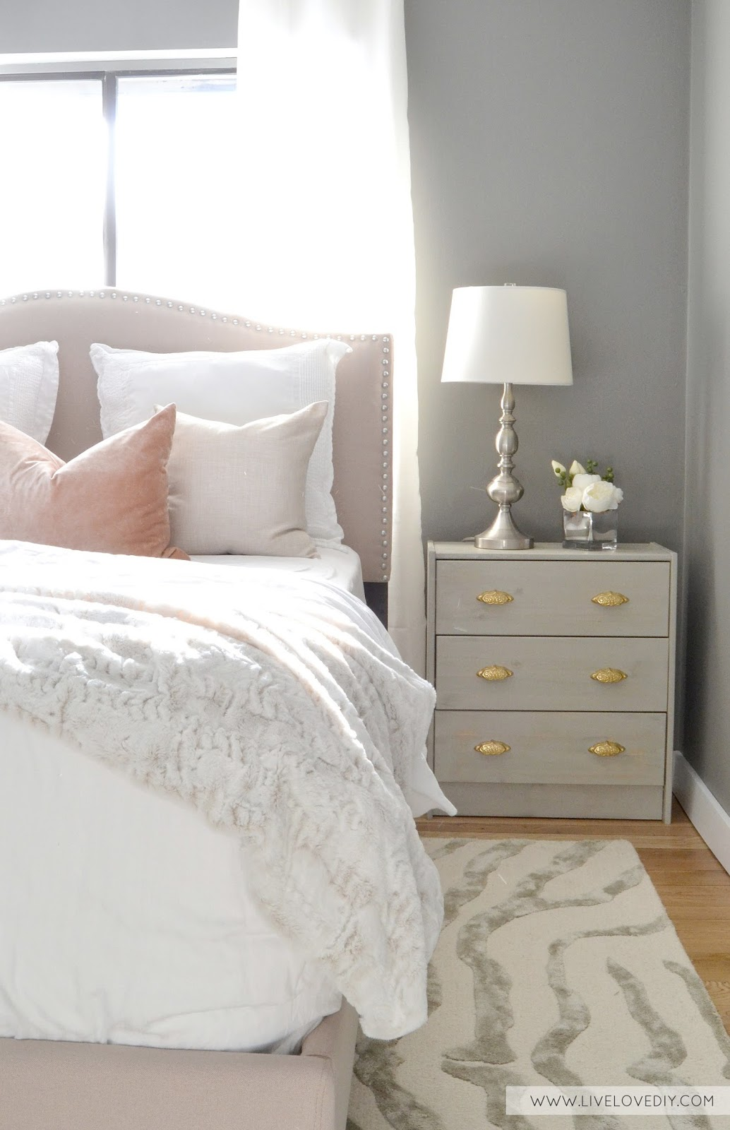 Staining Bedroom Furniture Livelovediy Diy Ikea Rast Makeover With Weathered Gray Wood Stain