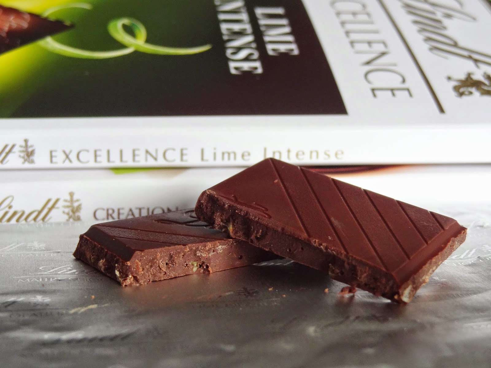 New Lindt Lime Intense Chocolate